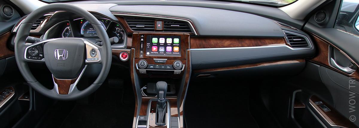 Dash Kits For Honda Civic Wood Grain Camo Carbon Fiber