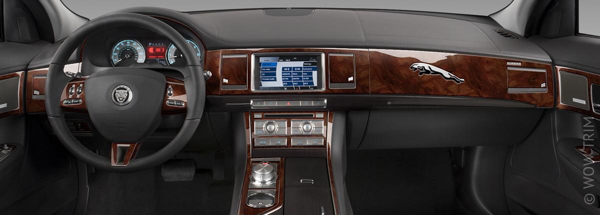 Dash Kits For Jaguar Xf Wood Grain Camo Carbon Fiber