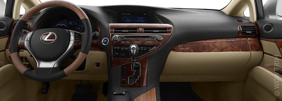 Dash Kits For Lexus Rx Wood Grain Camo Carbon Fiber