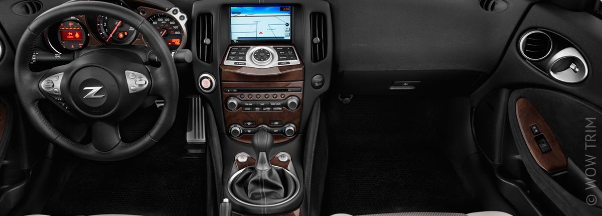 Dash Kits For Nissan 370z Wood Grain Camo Carbon Fiber