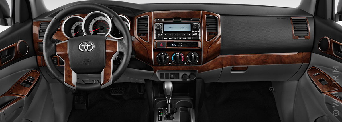 Dash Kits For Toyota Tacoma Wood Grain Camo Carbon