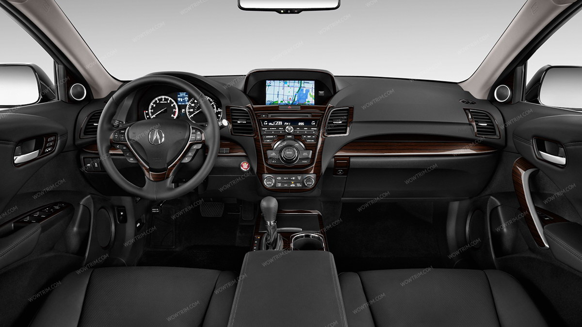 Acura RSX 2002, 2003, 2004, 2005, 2006, Basic Interior Kit, Automatic, With  CD Player, 14 Pcs