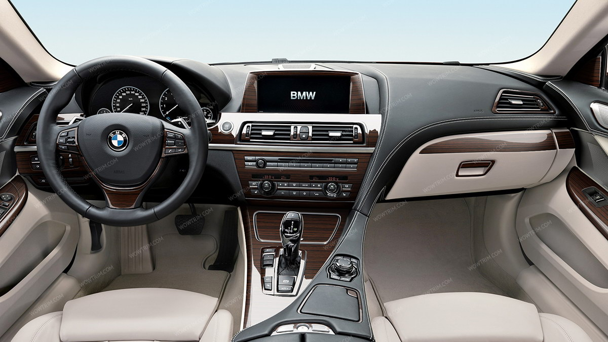 BMW 6 Series 2011 UP Over OEM Kit Full Interior Coupe