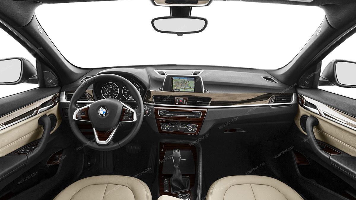 Bmw X1 F48 2016 Up Main Interior Kit 32 Pcs