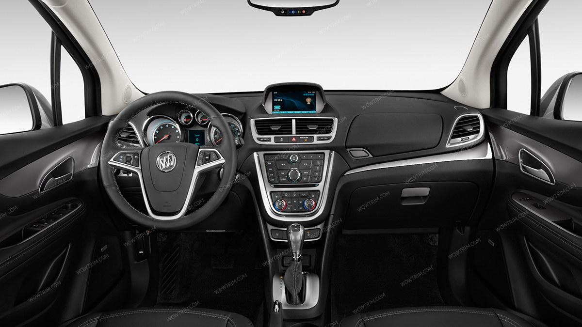 Buick Encore 2013 2016 Full Interior Kit Over Oem Trim 36 Pcs