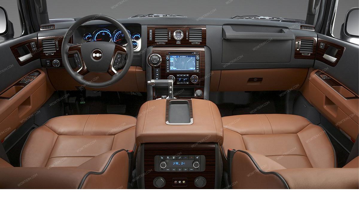 hummer h2 2008 2009 full interior kit 53 pcs