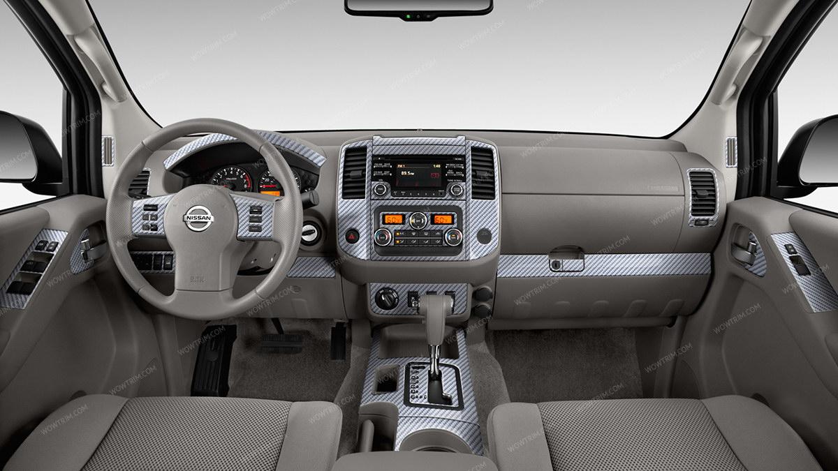 Nissan Frontier 2013, 2014, 2015, 2016, 2017, 2018, SL/SV/PRO-4X, With  Manual Transmission, Full Interior Kit, 41 Pcs