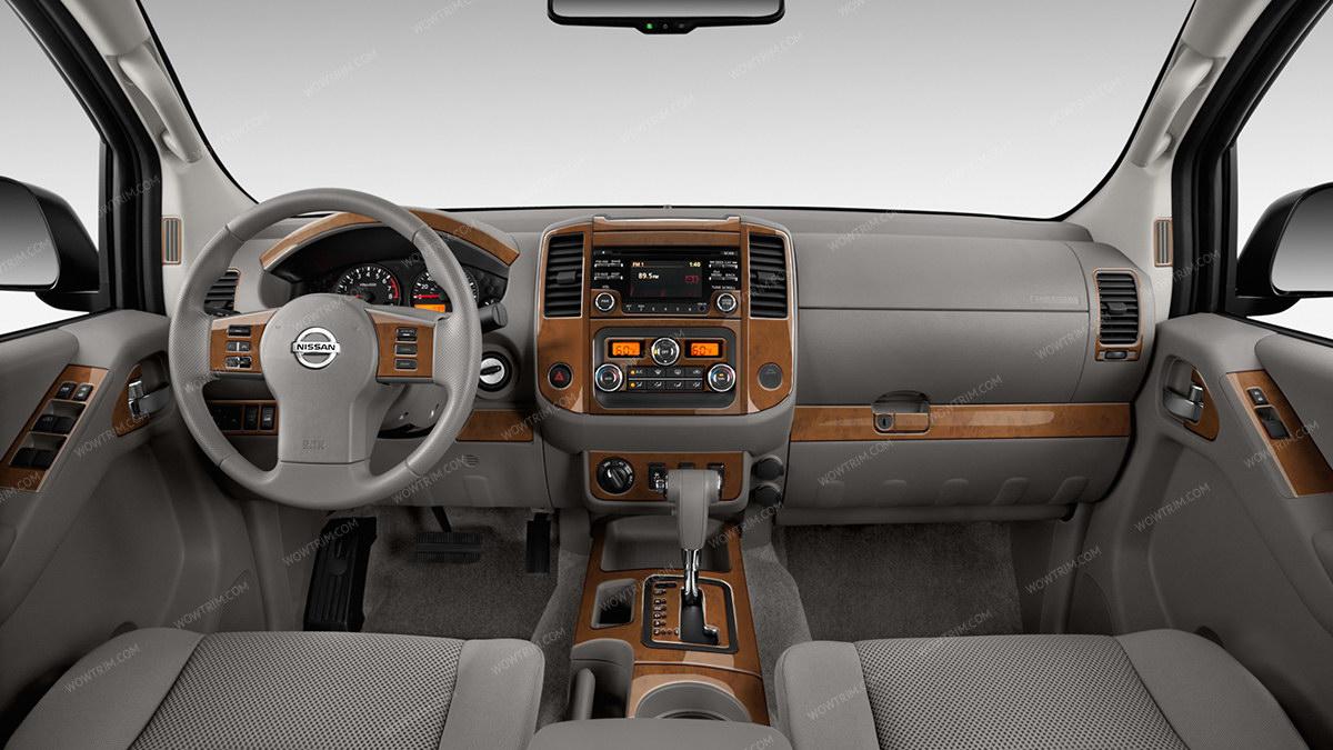 nissan frontier 2013 up sl sv pro 4x with manual transmission full interior kit 41 pcs. Black Bedroom Furniture Sets. Home Design Ideas