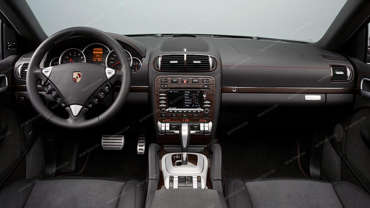 Porsche Cayenne 2003 2010 Interior Dash Kit Optional Rear Center