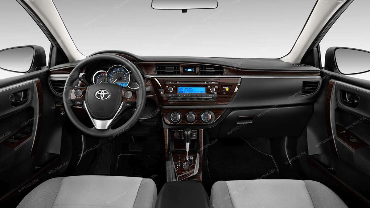 Interior Toyota Corolla 2014 >> Toyota Corolla 2014 2016 Full Interior Kit 81 Pcs