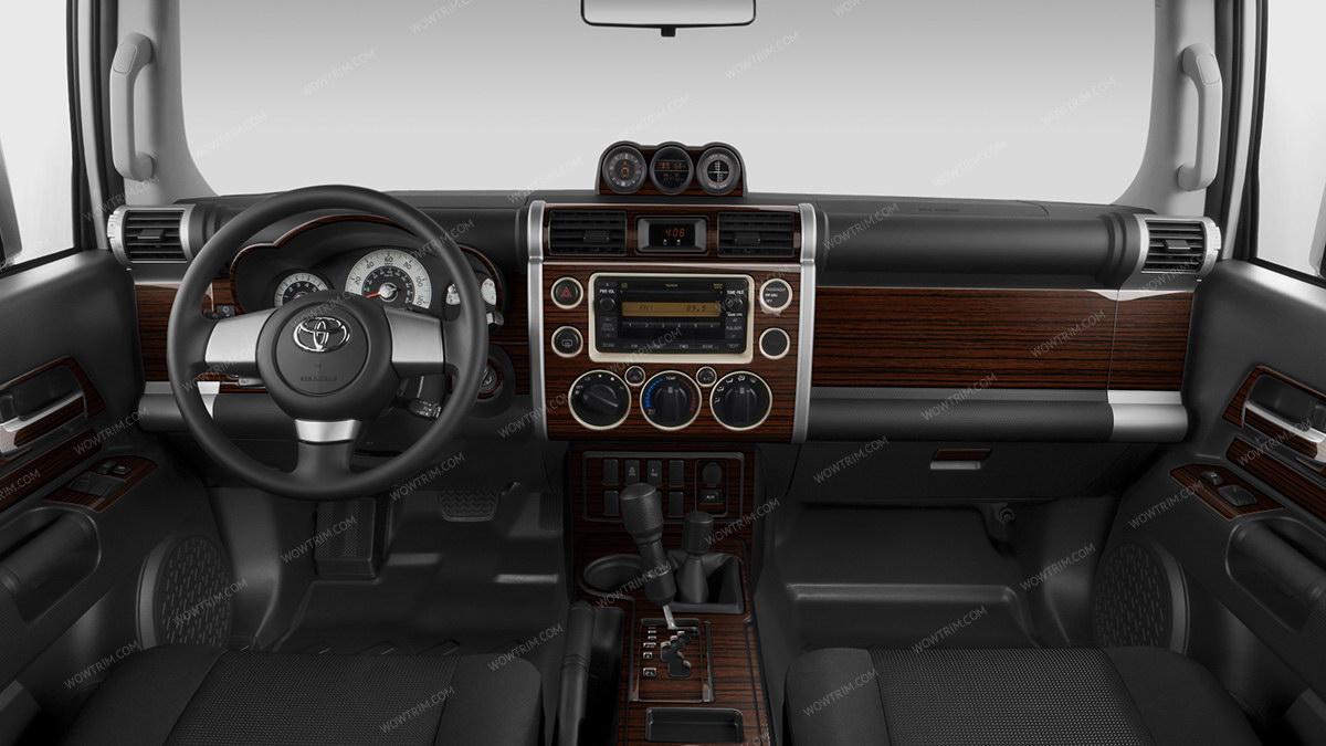 Toyota Fj Cruiser 2007 Up Non Match Oem With Automatic Transmission Full Interior Kit 39 Pcs