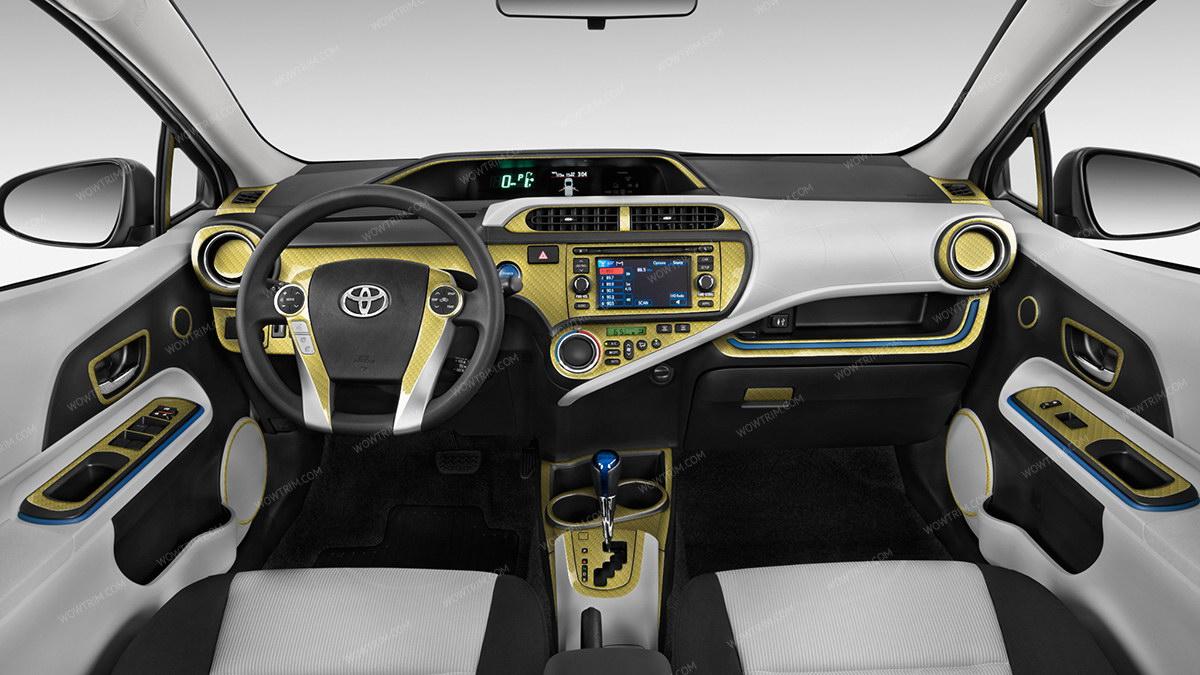 RYCF - Real Yellow Carbon Fiber