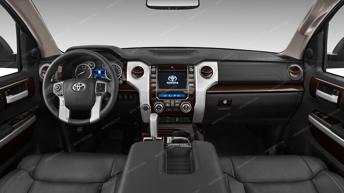 Toyota Tundra 2014 Up Full Interior Kit Crewmax Only 60 Pcs Wiring Harness 2015 Sazw African Zebra Wood Resize