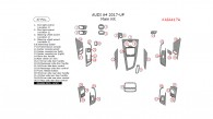 Audi A4 2017-2018, Main Interior Kit, 37 Pcs.