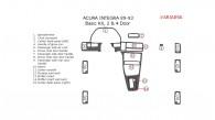 Acura Integra 1989, 1990, 1991, 1992, 1993, 2 & 4 Door, Basic Interior Kit,15 Pcs.