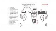 Acura Integra 1989, 1990, 1991, 1992, 1993, 2 Door, Full Interior Kit, 20 Pcs.