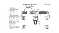 Acura Integra 1989, 1990, 1991, 1992, 1993, 4 Door, Full Interior Kit, 22 Pcs.