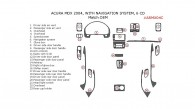 Acura MDX 2004, Interior Dash Kit, With Navigation System, 6CD Changer, 23 Pcs., Match OEM