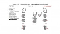 Honda Gold Wing 2006-2010, Without Navigation System, Main Kit, 20 Pcs.