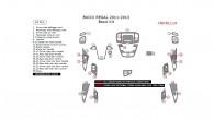 Buick Regal 2011, 2012, 2013, Basic Interior Kit, 34 Pcs.