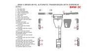 BMW 5 Series 1989, 1990, 1991, 1992, 1993, Interior Kit, Automatic Transmission With Overdrive, 25 Pcs.