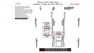BMW X6 2008, 2009, 2010, 2011, 2012, 2013, 2014, Addition To Main Interior Kit (Over OEM Kit), 27 Pcs.