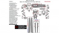 BMW Z4 2003, 2004, 2005, 2006, 2007, 2008, Basic Interior Kit (Regular Kit Or Over OEM Kit), 59 Pcs.