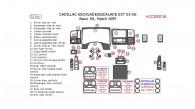 Cadillac Escalade/Escalade EXT 2003, 2004, 2005, 2006, Basic Interior Kit, 32 Pcs., Match OEM