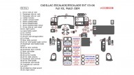 Cadillac Escalade/Escalade EXT 2003, 2004, 2005, 2006, Full Interior Kit, 39 Pcs., Match OEM