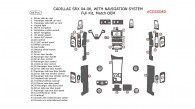 Cadillac SRX 2004, 2005, 2006, Full Interior Kit, With Navigation System, 44 Pcs., Match OEM