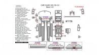Chrysler 300 2008, 2009, 2010, Basic Interior Kit, 43 Pcs.