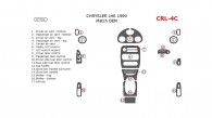 Chrysler LHS 1999, Main Interior Kit, 17 Pcs., Match OEM