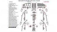 Chrysler PT Cruiser 2006, 2007, 2008, 2009, 2010, 4 Door, Full Interior Kit, 64 Pcs.