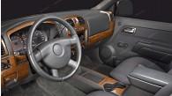 Chevrolet Colorado 2004, 2005, 2006, 2007, 2008, 2009, 2010, 2011, 2012, GMC Canyon 2005-2012, 4 Door, With Bucket Seats, With Power Windows, Full Interior Kit, 42 Pcs.