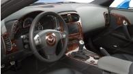 Chevrolet Corvette 2008, 2009, 2010, 2011, 2012, 2013, With Magnetic Selective Ride Control, Main Interior Kit, 31 Pcs.
