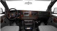 Chevrolet Express/GMC Savana 2008, 2009, 2010, 2011, 2012, 2013, 2014, 2015, Full Interior Kit, 44 Pcs.