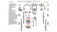 Chevrolet Equinox 2005-2006, Pontiac Torrent 2005-2006, Full Interior Kit, 47 Pcs.