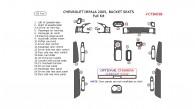 Chevrolet Impala 2005, Chevrolet Impala 2005, Bucket Seats, Full Interior Kit, 25 Pcs., Match OEM