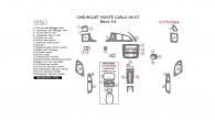 Chevrolet Monte Carlo 2006-2007, Basic Interior Kit, 29 Pcs.