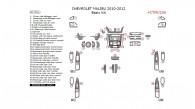 Chevrolet Malibu 2010, 2011, 2012, Basic Interior Kit, 51 Pcs.