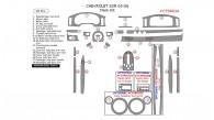 Chevrolet SSR 2003, 2004, 2005, 2006, Main Interior Kit, 28 Pcs.