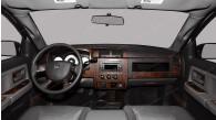 Dodge Dakota 2008, 2009, 2010, 2011, Crew Cab/Extended Cab, Full Interior Kit, 53 Pcs.