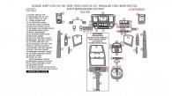 Dodge Ram 1500 2006, 2007, 2008, Ram 2500/3500 2006-2009, Regular Cab (non-SRT10),With Navigation System, Full Interior Kit, 56 Pcs.