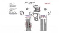 Dodge Viper 2003, 2004, 2005, 2006, 2007, 2008, 2009, 2010, Basic Interior Kit, 14 Pcs.