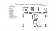 Dodge Durango 1997, 1998, 1999, Interior Dash Kit, Without Rear Door Panels, 18 Pcs.