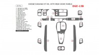 Dodge Durango 1997, 1998, 1999, Interior Dash Kit, With Rear Door Panels, 20 Pcs.