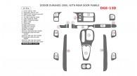 Dodge Durango 2000, Interior Dash Kit, With Rear Door Panels, 19 Pcs.