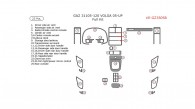 Gaz 31105-120 Volga 2005, Full Interior Kit, 25 Pcs.