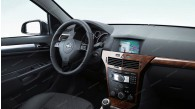 Opel Astra 2005, 2006, 2007, 2008, 2009, 2010, 2011, 2012, 2013, 2014, 2015, Opel Astra H Interior Dash Kit, With Manual Transmission, 8 Pcs.