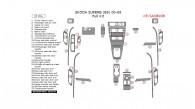 Skoda Superb 2000, 2001, 2002, 2003, 2004, 2005, 2006, 2007, 2008, Full Interior Kit, 37 Pcs.